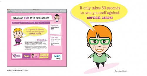 My 60 seconds HPV Social Marketing Campaign Launch