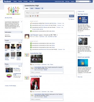 Facebook Launch for Levenshulme High School