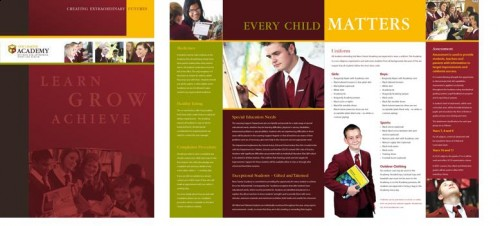 New Charter Academy delivers new prospectus